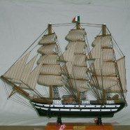 Barca legno Amerigo Vespucci
