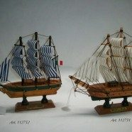Barca legno Cutty Sark e Mayflower