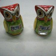 Sale/pepe gufo ceramica