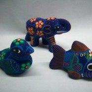 Animali in ceramica guerrero