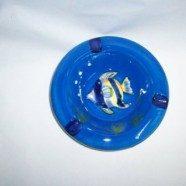 Posacenere ceramica con pesci