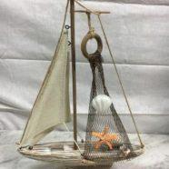 Barca legno cm 37×26