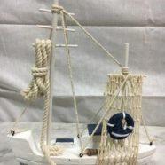 Barca legno cm 25×22