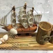 Barca legno cm 23×15