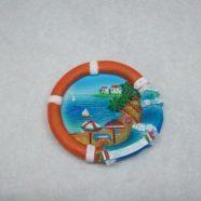 Magnete salvagente con paesaggio