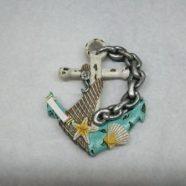 Magnete ancora con catena