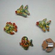 Magneti pesci ceramica