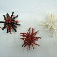 Pendente esplosione corallo