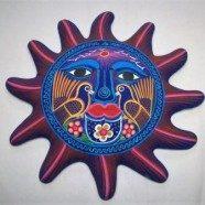 Sole grande  ceramica guerrero
