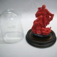 Campana vetro con nativita' resina