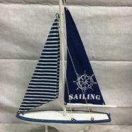 Barca legno cm 30